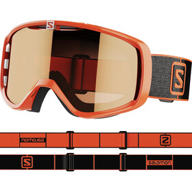 Salomon Aksium Access Lunettes De Protection, flame/tonic orange